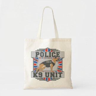 K9 Unit Police German Shepherd Canvas Bags