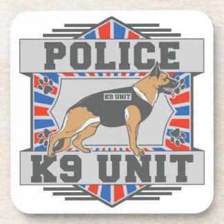 K9 Unit Police German Shepherd Drink Coaster