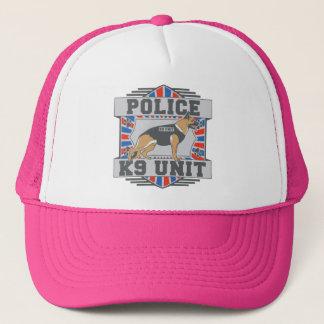 K9 Unit Police German Shepherd Trucker Hat