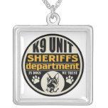 K9 Unit Sheriff's Department Pendant