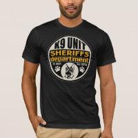 K9 Unit Sheriff's Department T-Shirt