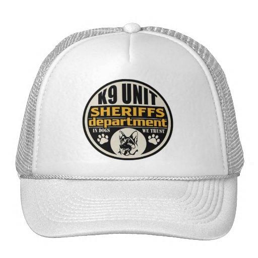 K9 Unit Sheriff's Department Trucker Hat