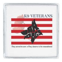 K9 Veterans Veterans Day Lapel Pin