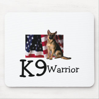 K9 Warrior Mouse Pad