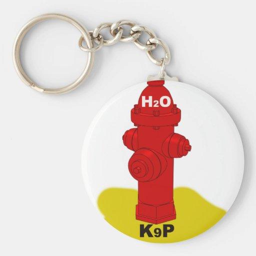 k9p basic round button keychain