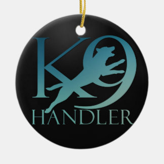 K-9 Handler -Dog Trainer - Malinois Ceramic Ornament