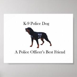 K-9 Police Dog Poster