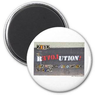 K-9 Revolution - Ron Paul 2012! Refrigerator Magnet