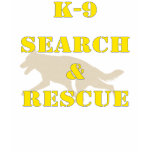 K 9 Search And Rescue Gsd Tshirt