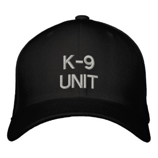K-9 UNIT EMBROIDERED BASEBALL CAP