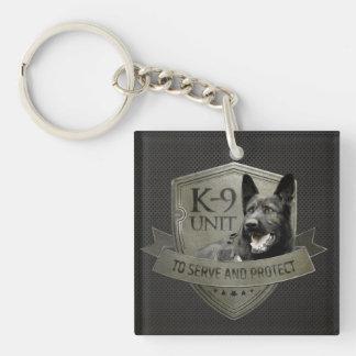 K-9 Unit GSD -Working German Shepherd Dog Keychain
