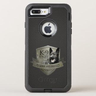 K-9 Unit GSD -Working German Shepherd Dog OtterBox Defender iPhone 8 Plus/7 Plus Case