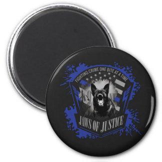 K-9 Unit - Jaws of Justice Magnet