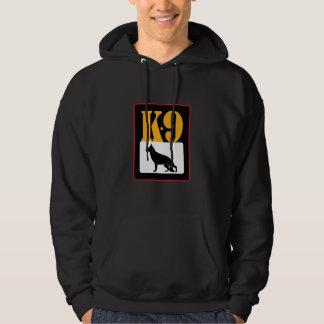 K-9 Unit . K9 German Shepherd. Rescue - Search Hooded Pullover