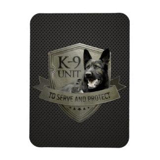 K-9 Unit  -Police dog Unit- German Shepherd Magnet