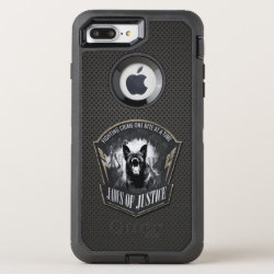 K-9 Unit  -Police  Unit- German Shepherd OtterBox Defender iPhone 8 Plus/7 Plus Case