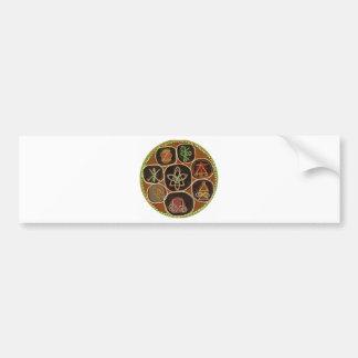 K A R U N A Reiki Emblem Bumper Stickers