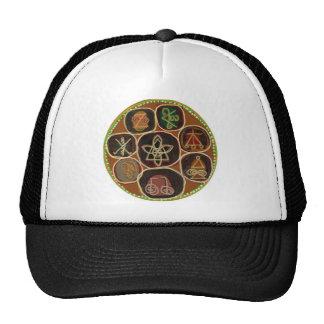 K A R U N A Reiki Emblem Mesh Hats