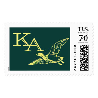 K and A Duck stamp
