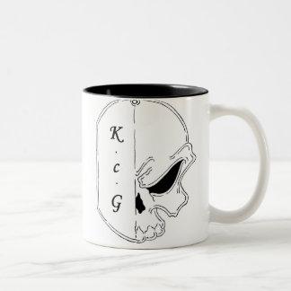 K c G Coffee cup