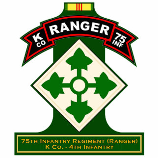 K Co, 75th Infantry Regiment - Ranger, Vietnam Statuette