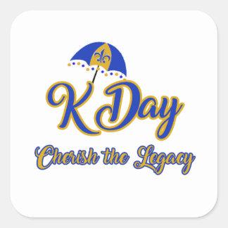 K Day Stickers