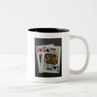 K del bolsillo taza de café