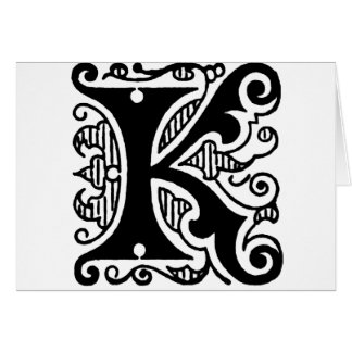 K Design Card