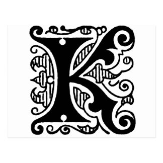 K Design Postcard
