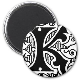 K Design Refrigerator Magnet