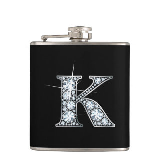 "K ""Diamond Bling"" Flask"