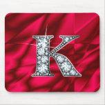 "K ""Diamond Bling"" Mousepad"