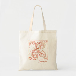 K Dragon Orange Bag