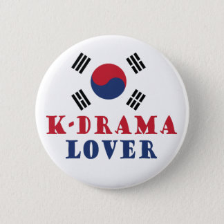 K-Drama Lover Button