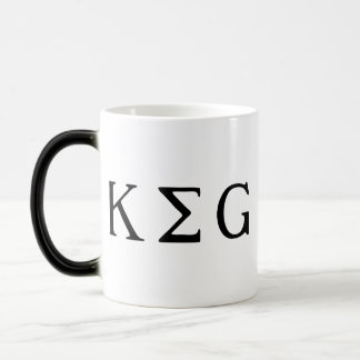 K E G 11 OZ MAGIC HEAT Color-Changing COFFEE MUG