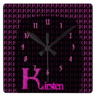 K - El alfabeto de Falck (rosa) Relojes