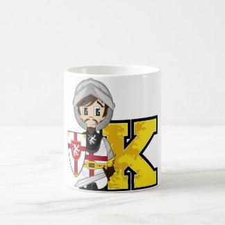 K está para el caballero taza básica blanca
