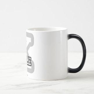 K está para la col rizada tazas de café