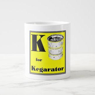 K for Kegarator Mug