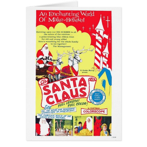 "K. Gordon Murray's ""Santa Claus"" Card"