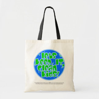K I C K Plastic and Pollution Tote Bag