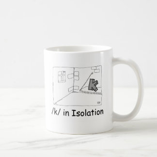 K In Isolation Coffee Mug