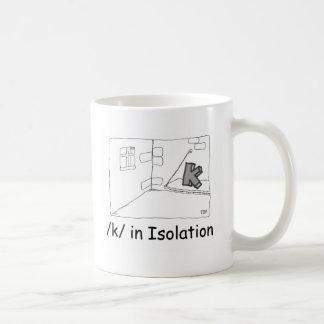 K In Isolation Coffee Mug