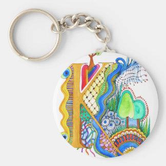 K, initial, monogram, wedding keychain