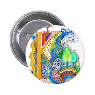 K, initial, monogram, wedding pinback button