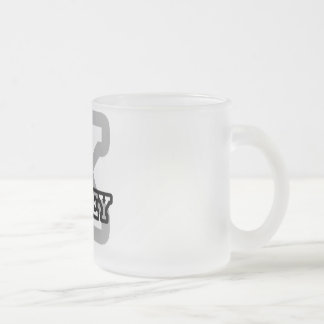 K is for Kailey Frosted Glass Coffee Mug
