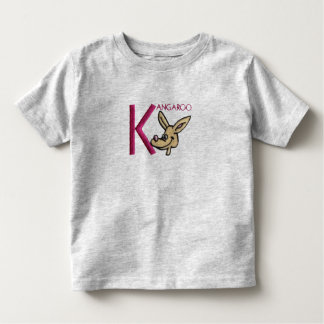 K is for Kangaroo Toddler T-shirt