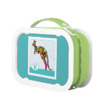 K is for Kangaroo Yubo Lunch Boxes