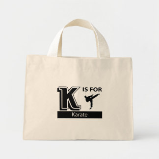 K Is For Karate Canvas Bag
