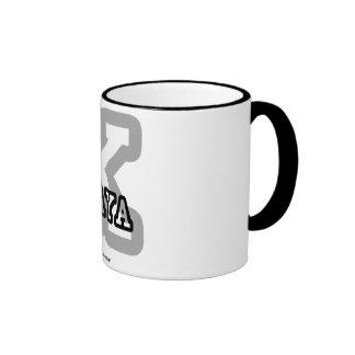K is for Kaya Ringer Coffee Mug